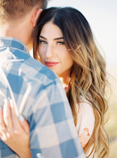 antelope island engagement photos by brushfire photography in salt lake city utah