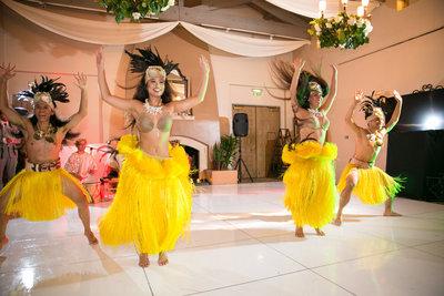 Hawaiian wedding dance group at Marbella Country Club wedding in Orange County, CA San Juan Capistrano wedding photographer