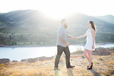 The Best Fort Collins Colorado engagement photographer