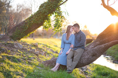 georgia engagement session