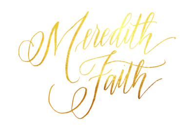 Meredith Faith gold