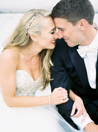 Gorgeous Modern Wedding couple in Columbus Ohio, Fine Art Film Wedding Photography
