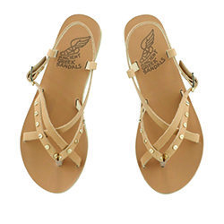 Ancient Greek Semele Nails Sandals in Natural