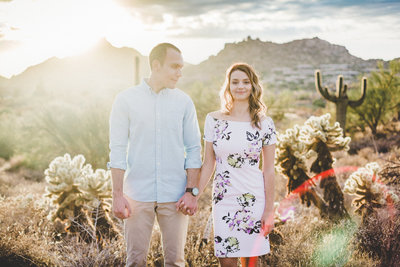 Engagement Photo Session in the Scottsdale Desert