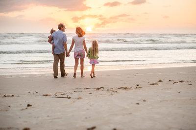 Ormond Beach family portrait photographer