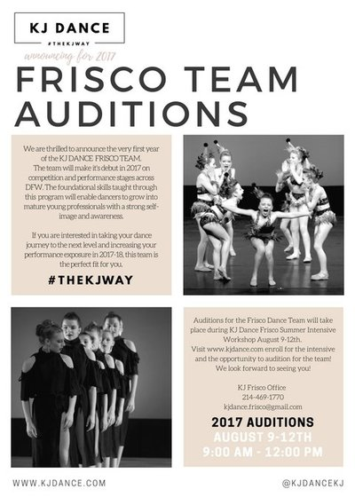 FRISCO TeamAuditions