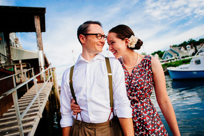 Ogunquit Maine Engagement Session