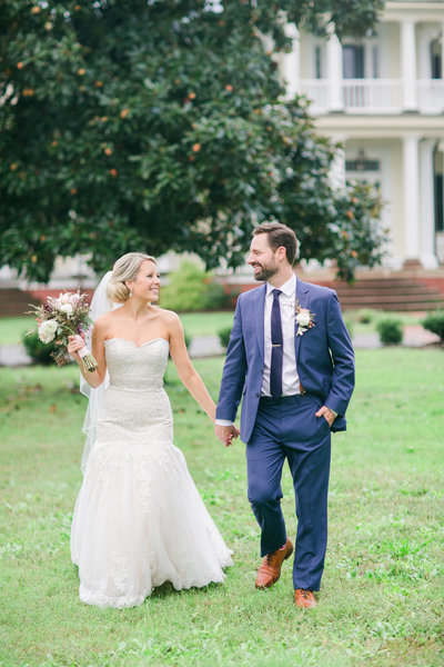 UNC well bride and groom