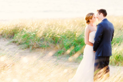 golden hour wedding photography in northern michigan