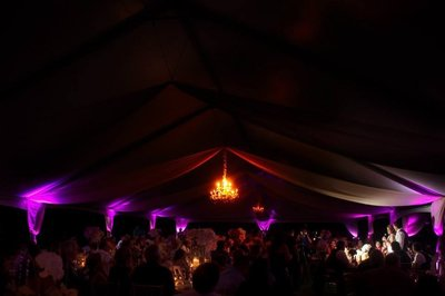 sacramento tent wedding