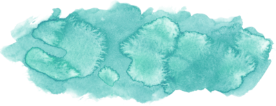 Turquoise Watercolor 9