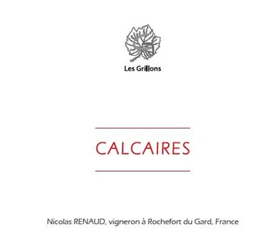 Calcaires Back Label