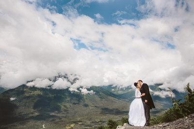 Rattlesnake Ridge Elopement