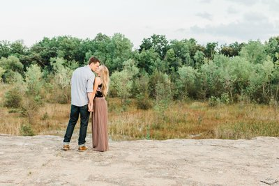 Engagement Session at Quarry Hill Nature Center