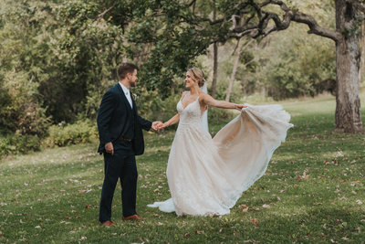 beyond the pines photography wedding day