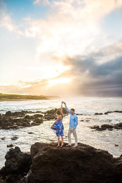 Engagement session in Kauai