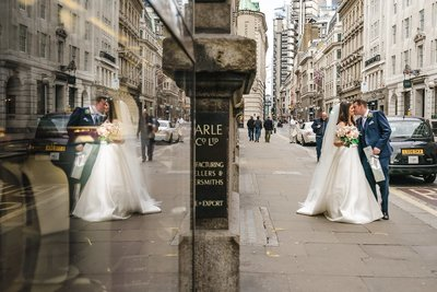 London wedding photography at the royal exchange