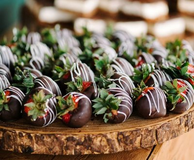 Whippt chocolate covered strawberries