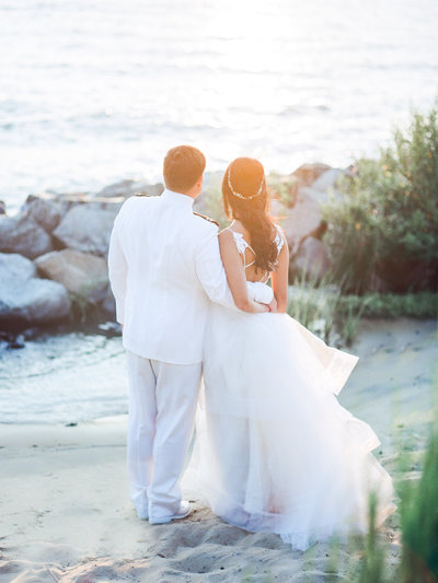 K+M-US Naval Academy-Chesapeake Bay Beach Club- Wedding-Photo-1