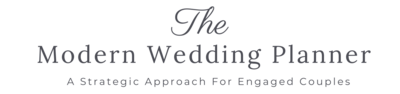 The Modern Wedding Planner Logo - Grey