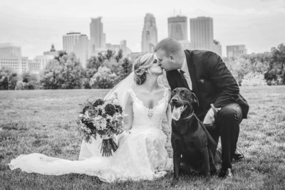 Studio Twelve:52 Minnesota Dog Friendly Wedding Photographers