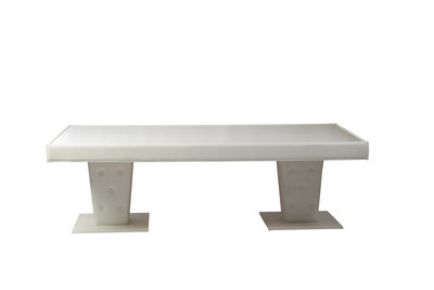 8' x 4' White Illuminated Table