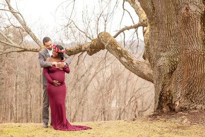Atlanta maternity photographer Mecca Gamble