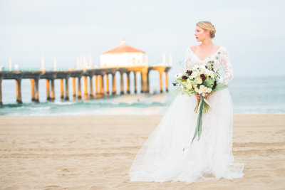 Manhattan Beach Wedding - Manda Weaver Photography-38