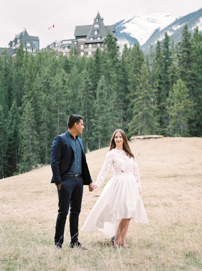 Banff Mountain Engagement - Esther Funk Photography-8