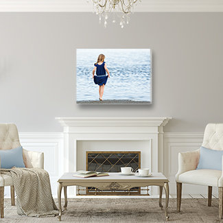 Photo Canvas in Living Room