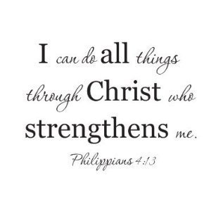 Bible quote Philippians 4:13