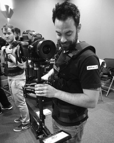 Operating the Steadicam