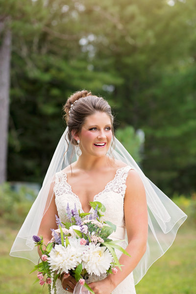 Northern Wisconsin Northwoods Wedding