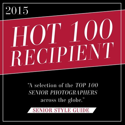 In 2015, Catie Ronquillo Photography won the Hot 100 Award from Senior Style Guide