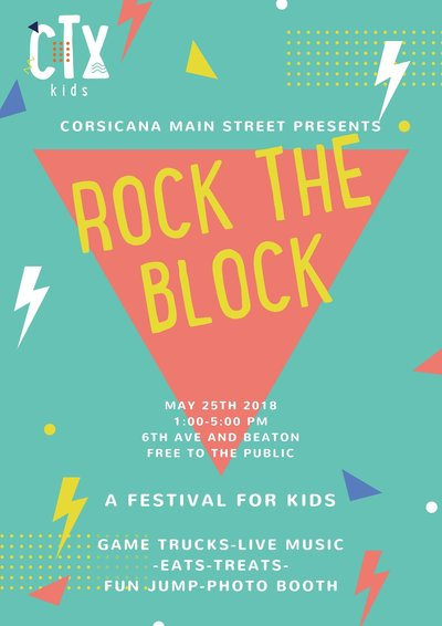 ROCK THE BLOCK-poster