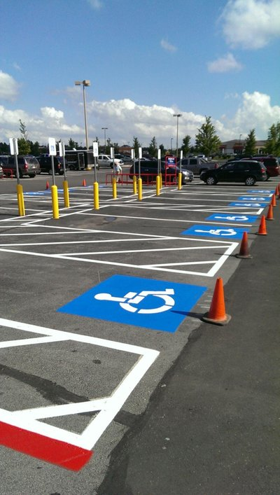 Lowes-Broken Arrow, OK-Striping Pics (9)