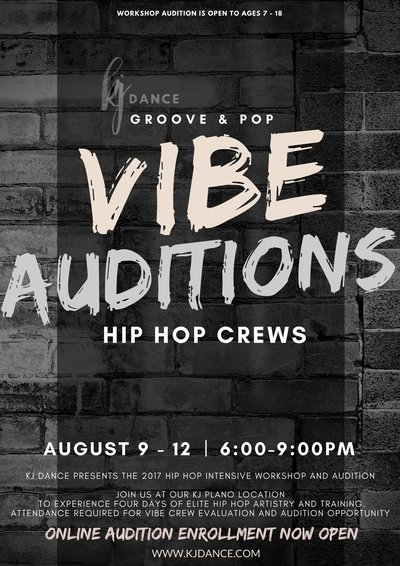 VIBE AUDITIONS