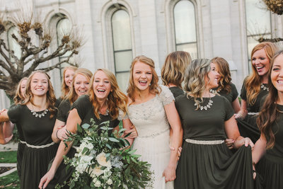 Salt Lake Temple Wedding Photographer