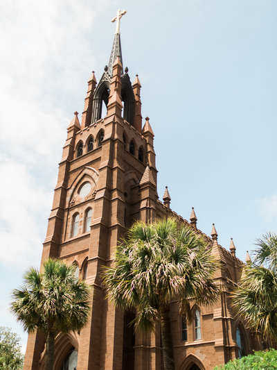 Charleston Wedding at Cathedral of St. John the Baptist
