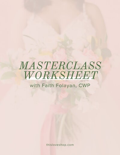 MasterclassWorksheet