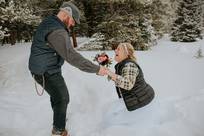 marble colorado wedding photographer, destination elopement photographer, destination elopement photography, couple embracing, first dance, boho wedding inspiration, blue groom suit, blond bride, couple inspiration, badass colorado weddings,
