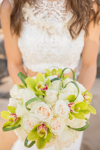 Mele Maui Wedding Bouquet