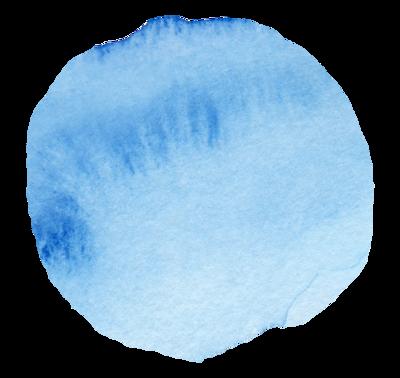 Watercolor Swash Circle