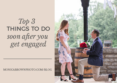 top 3 things after engaged