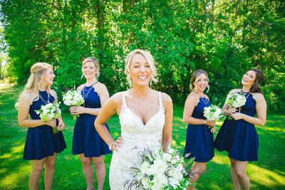 Jordan & Taylor's Outdoor Wisconsin Northwoods Wedding Photos by Amenson Studio-0085