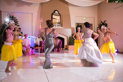 Hawaiian wedding dance Marbella Country Club wedding in Orange County, CA San Juan Capistrano wedding photographer