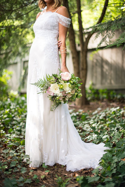 atlanta boho bridal bouquet