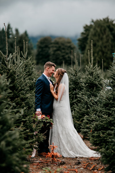 Trinity Tree Farm Seattle PNW Fall Wedding Planner