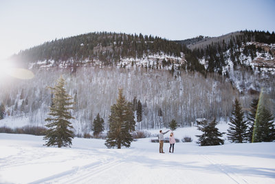 vail colorado engagement photographer, boulder colorado backyard wedding photographer