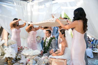 wedding ceremony Marbella Country Club wedding in Orange County, CA San Juan Capistrano wedding photographer